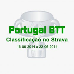 Classificação do Portugal BTT no Strava (16-06-2014 a 22-06-2014)
