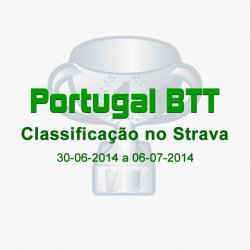 Classificação do Portugal BTT no Strava (30-06-2014 a 06-07-2014)