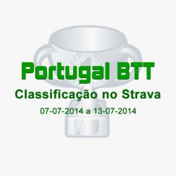 Classificação do Portugal BTT no Strava (07-07-2014 a 13-07-2014)